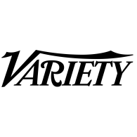 """Logo that has lettering in black text that reads """"Variety"""""""