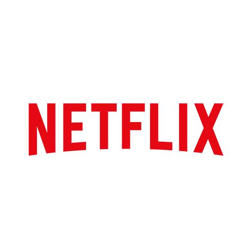 """Logo for Netflix. """"Netflix"""" is written in bold lettering."""